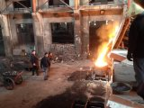 L'acier Cuivre Fer moyenne fréquence de la machine de fusion de chauffage par induction