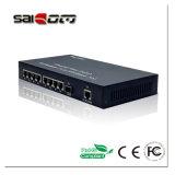 중국 1port LC 섬유와 9개의 포트 Tx 빠른 이더네트 네트워크 근거리 통신망 스위치 (SCM-F8G1LS22M)