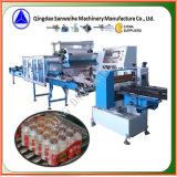Maquinaria colectiva del embalaje del encogimiento de las botellas Swsf-800