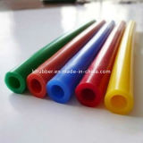 Tube de silicone haute température droite du flexible en silicone souple