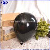 Metallic Black Ballons mit Luft aufblasen Luftballons Perlen Farbe Luftballons