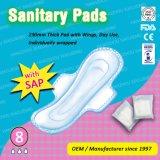 Top Venta - Day Use 230mm gruesos cojines, toallas sanitarias. FDA, CE certificado