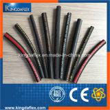 Rubber Hydraulische die Slang SAE100 R13 in China wordt gemaakt