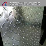 Piatto Chequered dell'alluminio 6061 per il pavimento antisdrucciolevole