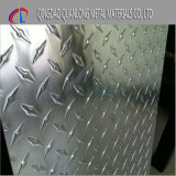 Плита алюминия 6061 Chequered для противоюзового пола