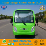 세륨 증명서를 가진 도로 배터리 전원을 사용하는 고전적인 셔틀 관광 전기 버스 떨어져 동봉하는 Zhongyi 8 사람