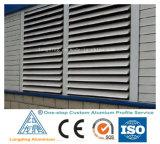 Perfil de alumínio personalizado para Porta de obturador da janela do Obturador