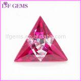 De driehoek sneed de Synthetische Veelkleurige Gem van CZ