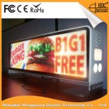Hohes im Freientaxi LED der Helligkeits-SMD3535 P5, das Bildschirmanzeige bekanntmacht