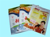 Transparente Stand up Snack Food Plastic Ziplock Bags