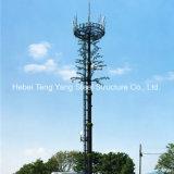 Башня вала горячего камуфлирования телекоммуникаций GSM надувательства Monopole