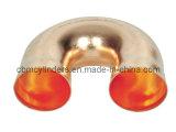 Cotovelo de cobre (T de 180 graus, curvatura de U)