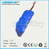 12V 6.6ah Lithium-Ionenbatterie-Satz mit guter Qualität