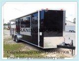 De nieuwe 6X12 6 X12 v-Besnuffelde Ingesloten Aanhangwagen van de Fiets ATV van de Motorfiets van de Lading met RAM