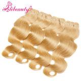 Extensions de trame de cheveu d'onde de corps de cheveux humains de 27# Vigin