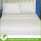 Folha de cama bordada à mão de puro algodão puro
