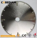 Hoja de sierra Electroplated de granito y mármol/herramienta de diamante/Disco de corte