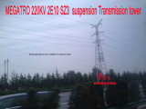 Megatro 220kv 2e10 Sz3 현탁액 전송 탑
