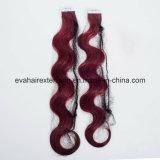 Лента Remy полных надкожиц европейская в выдвижении человеческих волос в шток