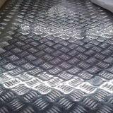 오렌지 필 패턴 치장 벽토에 의하여 돋을새김되는 알루미늄 장 3003
