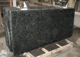 Groothandelsprijs die Absoluut Zwart Graniet voor Countertop en het Vloeren oppoetsen