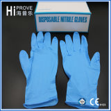 Устранимые медицинские перчатки рассмотрения нитрила