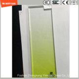 4.38mm-52mm 기온변화도 색깔 PVB 의 호텔 & 가정 분할, 단계, 담, 난간, 샤워를 위한 SGCC/Ce&CCC&ISO 증명서를 가진 Sgp 안전 박판으로 만들어진 유리