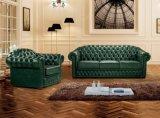 Sofà antico di cuoio italiano di lusso Ms-24 di Chesterfield