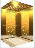 Grabado de espejo elevador de pasajeros con una buena calidad