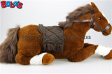 "20.5 ""/ 30"" The Simulation Cheval Jouet Peluche Peluche Cheveux Aniamls Toy Bos1188"