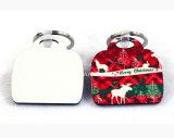 핸드백 모양 승화는 MDF 열쇠 고리를 비운다