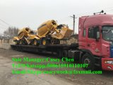Горячая собственная личность Hongyuan 3.5cbm сбывания нагружая передвижную конкретную тележку смесителя цемента для сбывания