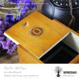 _E de madera natural de la caja de embalaje del cigarro del nuevo diseño de Hongdao