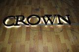 3D Metal Letter Illuminated Sign