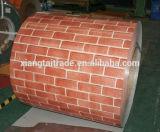Деревянным гальванизированная покрытием стальная катушка катушки PPGI