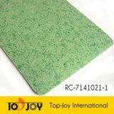 El patrón de mármol, suelos de hojas de PVC