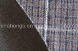 Hilado teñido, tela de la tela escocesa T/R, 270GSM, 63%Polyester 33%Rayon 4%Spandex