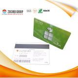 Cartão de garantia de plástico com cartão de RFID magnético de qualidade livre Disign Quality
