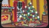 크리스마스를 위해 건전지에 의하여 운영하는 LED 벽 커튼