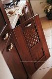 2017年の台所家具の贅沢な純木の食器棚Assw032