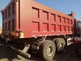 Sinotruk HOWO LHD 336/371HP 덤프 팁 주는 사람 트럭 사용된 트럭 초침 트럭