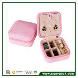 Moda Handmade PU couro embalado caixa de jóias de papelão para meninas