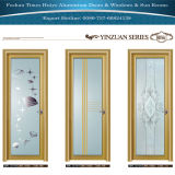 Ausgezeichnete Qualitätsaluminiumflügelfenster-Türen