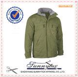 OEM 제조소 Workwea 남자 옷은 겨울 재킷을 덧댔다