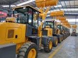 Eougem 1,6 тонны грузоподъемность мини-колесного погрузчика Zl16 с сертификат CE