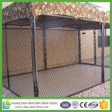 De vierkante de poeder-Laag van het Ontwerp van de Hoek Zwarte Kennels van de Hond voor ons Markt