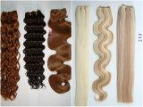 まっすぐのOmbreの毛の拡張、絹のまっすぐなOmbreの毛の織り方、Ombreの直毛
