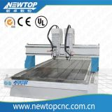 Машина маршрутизатора CNC Woodworking для PVC, ABS, Pf, PE, PU