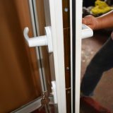 White Color UPVC Profile Casement Door K02022