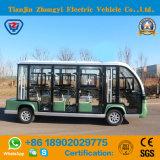 Zhongyi 11 Seater 세륨과 SGS 증명서를 가진 관광 셔틀 Buggy 차